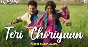 GURU RANDHAWA'S TERI CHORIYAAN FROM CHHALAANG IS STEALING HEARTS WITH THIS MELODIOUS TRACK