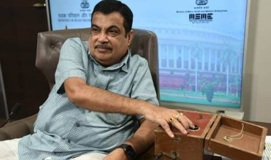 Gadkari initiates the first blasting at Zozila Tunnel; Say, with honest efforts, we can take our country forward