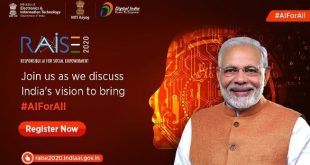 Industry leaders to address sessions on using AI for health, education, inclusion and social empowerment on 4th and 5th day of RAISE 2020 Summit