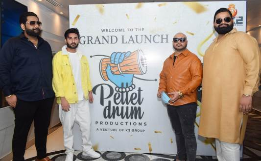 K2 Group ventures into music with 'Pellet Drum Productions Pvt. Ltd'
