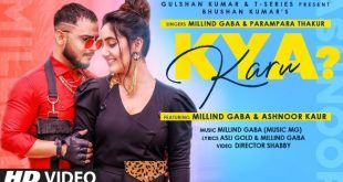 Millind Gaba collaborates with Parampara Thakur on T-Series' party song 'Kya Karu' ft Ashnoor Kaur!