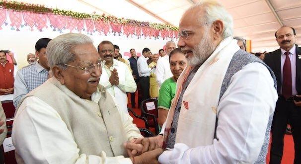 PM Narendra Modi condoles the passing away of former CM of Gujarat, Keshubhai Patel