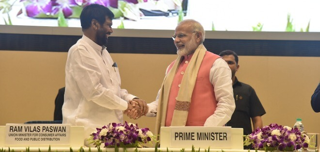 PM Narendra Modi  grieves over the passing away of Union Minister Ram Vilas Paswan