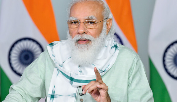PM Narendra Modi inaugurates three key projects in Gujarat