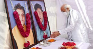 PM Narendra Modi pays tributes to late Maheshbhai and late Nareshbhai Kanodia