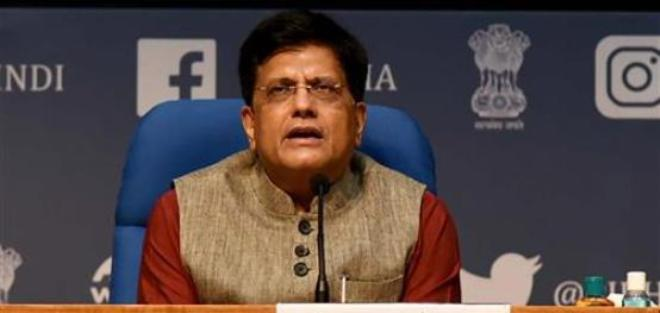 Piyush Goyal gets additional charge of the Ministry of Consumer Affairs, Food and Public Distribution
