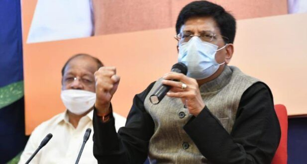 Piyush Goyal addresses 74th annual session of Hindustan Chamber of Commerce;
