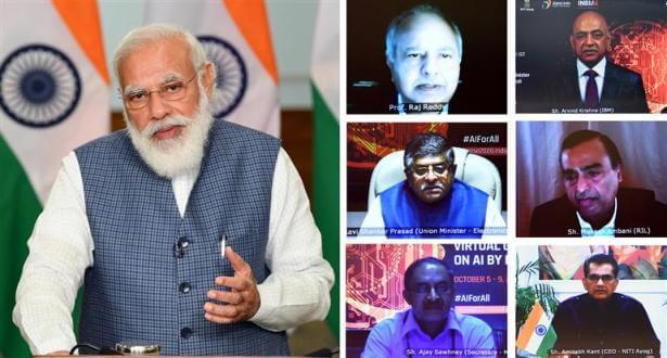 RAISE 2020 –PM Modi inaugurates 5-Day RAISE 2020 Global AI Summit, says committed to make India AI hub of the world