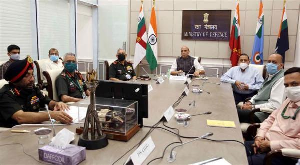 Raksha Mantri Rajnath Singh dedicates to The Nation 44 Bridges Built by BRO across seven States and UTs