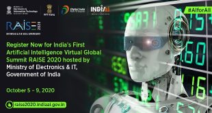 Renowned experts from MIT, Google Research India, IBM India & South Asia, Berkeley and World Economic Forum to participate on 3rd Day of RAISE 2020