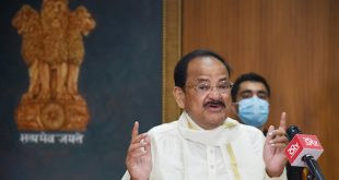 Vice President M. Venkaiah Naidu greets people on the eve of Milad-un-Nabi