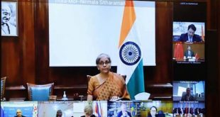 Finance Minister Nirmala Sitharaman attends 1st BRICS Finance Ministers and Central Bank Governors Meeting