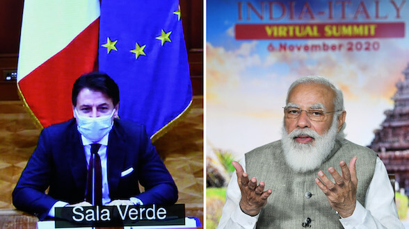 India-Italy Virtual Summit (6th November, 2020)