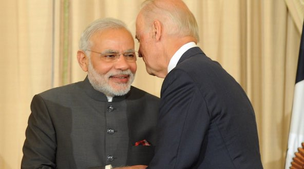 PM Narendra Modi congratulates Joe Biden on winning U.S. presidential election