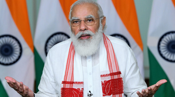 Phone call between Prime Minister Shri Narendra Modi and H.E. Dr. Tedros Adhanom Ghebreyesus, Director General of the World Health Organisation (WHO)