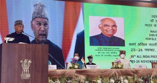 President of India Ram Nath Kovind inaugurates the 80th All India Presiding Officers' Conference at Kevadia