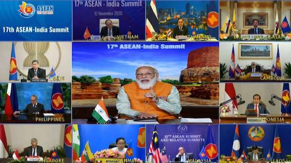 Prime Minister Narendra Modi's remarks at 17th India-ASEAN Virtual Summit