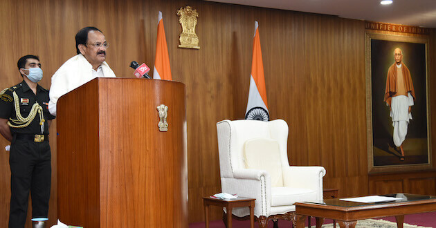 Vice President M Venkaiah Naidu calls for a 'Jan Andolan' on water conservation and stresses the importance of people's participation for its success