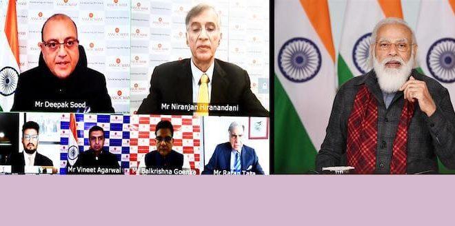 PM Narendra Modi delivers keynote address at ASSOCHAM Foundation Week 2020
