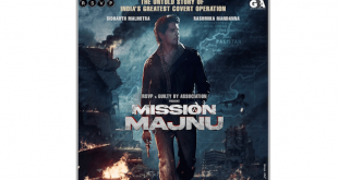 RSVP and Guilty By Association to collaborate for an espionage thriller titled Mission Majnu starring Sidharth Malhotra and Rashmika Mandanna