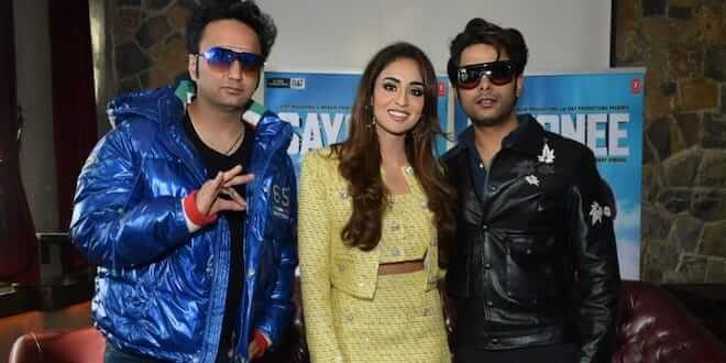 Sayonee Movie Starcast Spotted In Delhi For The Movie Promotions