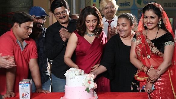 It's LIGHTS, CAMERA and ACTION for Nehha Pendse as Anita Bhabi in &TV's BhabijiGhar Par Hai!