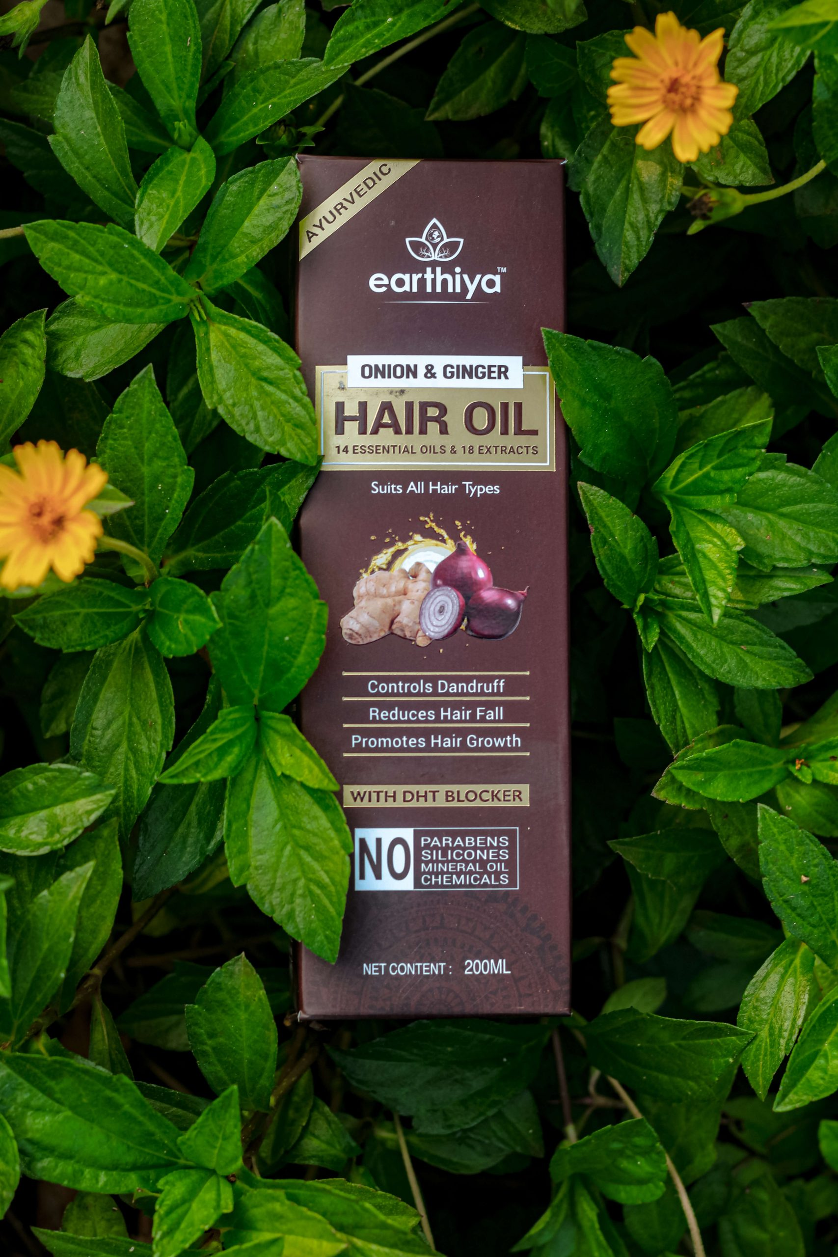 Earthiya Onion & Ginger Hair Oil