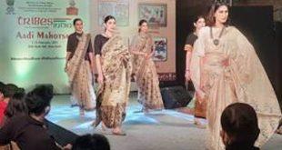 Tribal fashion curated by Rina Dhaka and Ruma Devi highlighted at the Tribes India Aadi Mahotsav