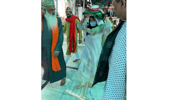 Ekta Kapoor, Ridhi Dogra & Monica Dogra visit Ajmer Sharif to seek blessings ahead of 'The Married Woman' launch!