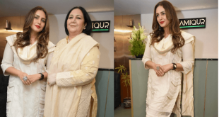 Huma Qureshi Visits Delhi For the The Relaunch Of Her Mother's Salon