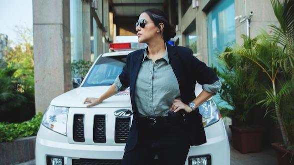 RSVP movies introduce and unveil Neha Dhupia's cop look from upcoming thriller, 'A Thursday'