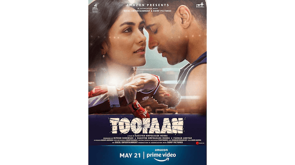 THE ALL NEW POSTER OF 'TOOFAAN' TAKES THE EXCITEMENT A NOTCH HIGHER! TEASER COMES OUT TOMORROW