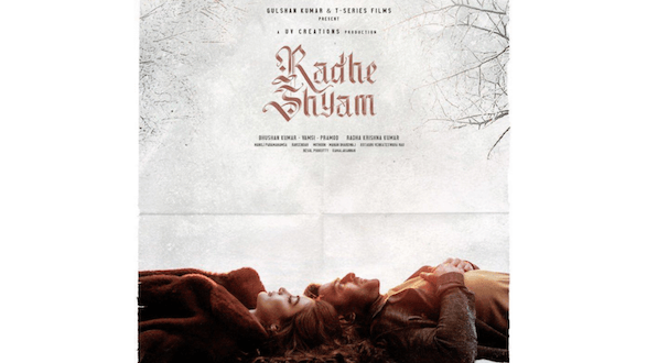The makers of Radheshyam set the mood romantic with this latest poster