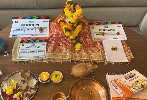 Balaji Telefilms-Reliance Entertainment's Goodbye starring Amitabh Bachchan-Rashmika Mandanna goes on-floors; directed by Vikas Bahl