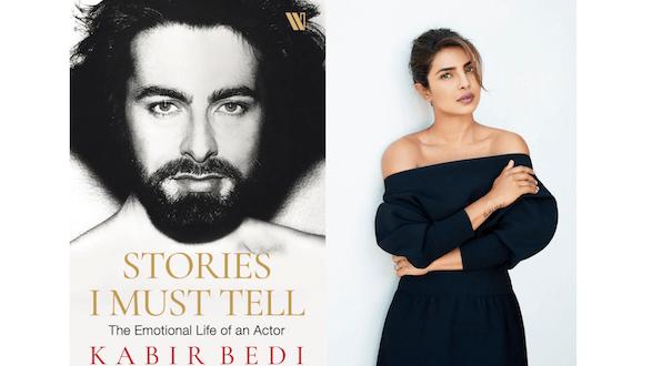 Breaking! Priyanka Chopra Jonas to launch Kabir Bedi's autobiography, Stories I Must Tell: The Emotional Life of An Actor