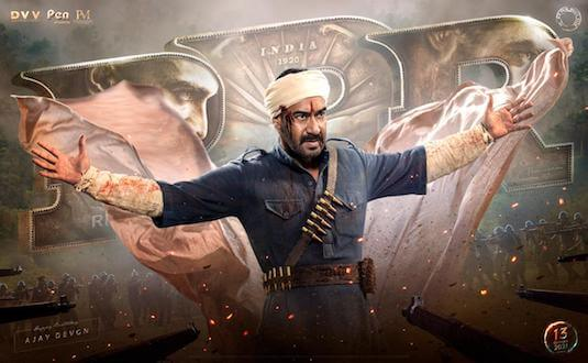 It's time to LOAD AIM SHOOT! On the occasion of Ajay Devgn's Birthday makers of RRR unveil his motion poster; excitement increases two fold!