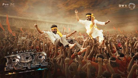 Makers of RRR launch a new poster on the occasion of Gudi Padwa & Baisakhi!
