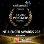 Second Edition of 'The Great Visioners Awards 2021' to felicitate Digital Influencers Virtually Aimed at cherishing the work of Influencers, Bloggers & Vloggers