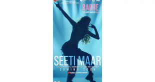 The latest rager, 'Seeti Maar', the first track of Radhe: Your Most Wanted Bhai, to release on Monday