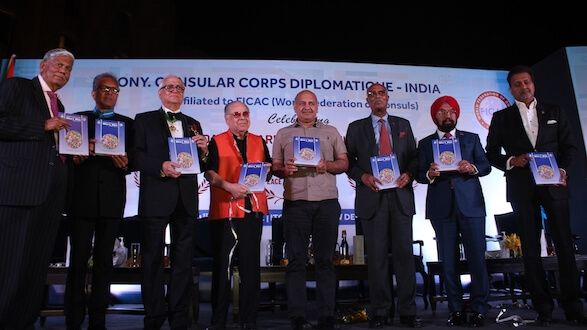 Honorary Consular Corps Diplomatique-India Hosts an evening to celebrate Consular Day