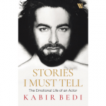 Legendary actor KABIR BEDI unveils the book cover of his forthcoming memoir, 'Stories I Must Tell: The Emotional Life of an Actor' with Bollywood superstar SALMAN