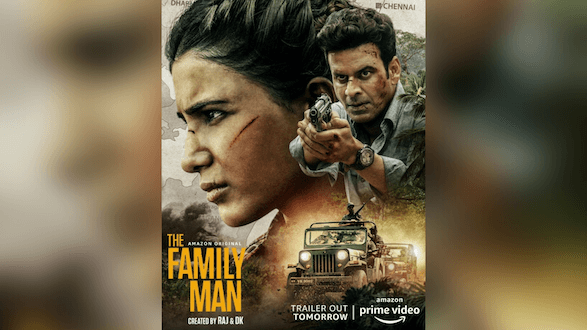 AMAZON PRIME VIDEO TO LAUNCH THE TRAILER FOR THE EAGERLY AWAITED NEW SEASON OF AMAZON ORIGINAL THE FAMILY MAN TOMORROW