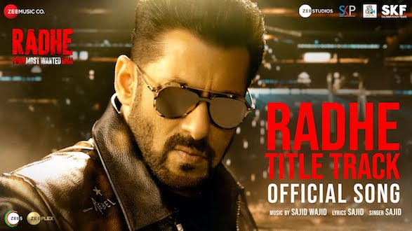 The perfect massy entertainer, title track of Salman Khan's Radhe: Your Most Wanted Bhai out now