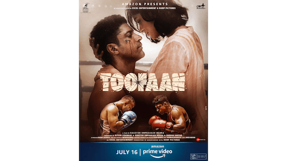 Amazon Prime Video is all set to unveil the Toofan trailer on June 30; fuels the excitement more with this poster!