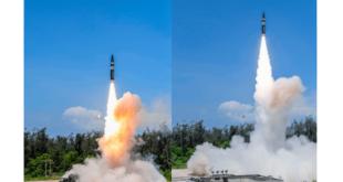 DRDO successfully flight tests New Generation Agni P Ballistic Missile