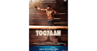 FARHAN AKHTAR, MRUNAL THAKUR AND PARESH RAWAL STARRER TOOFAAN TO PREMIERE GLOBALLY ON AMAZON PRIME VIDEO ON JULY 16TH