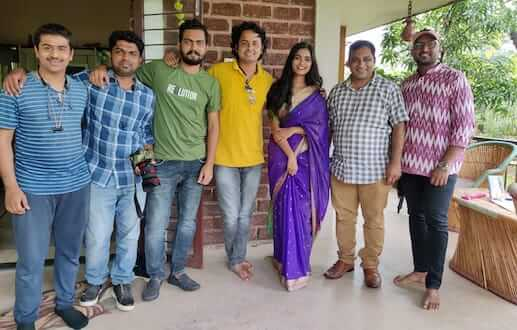 """Popular actress Urmila Jagtap will soon be seen in a new Marathi song titled """"Andhar Savlicha""""."""