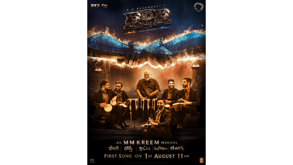 'RRR' Theme Song, 'Dosti' to be out on August 1st; Stay Tuned
