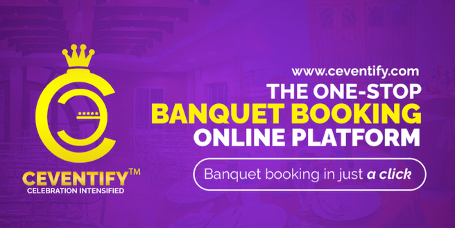 Ceventify launches India's first direct online banquet booking platform.