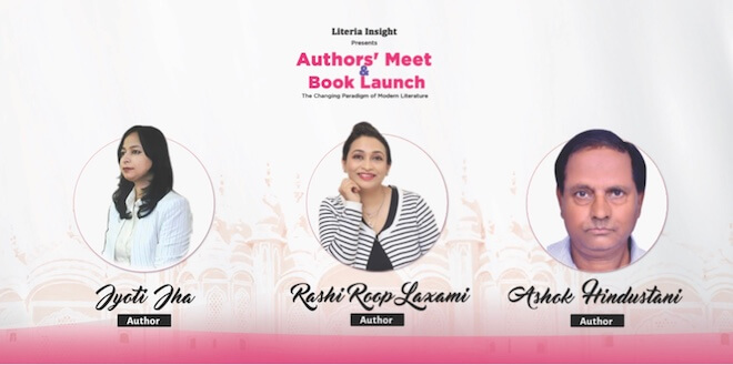Author's Meet and Book Launch Event organized by Literia Insight in Jaipur Jaipur has always been a hub for literature lovers.